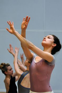 Royal Ballet dancer in rehearsal- beautiful!