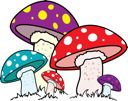 toadstool Clip Art | Mushroom Clipart - Royalty Free Nature and Scenic Clip art