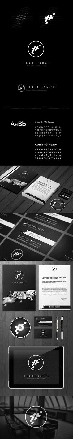 techforce by Leszek Jędraszczak, via Behance