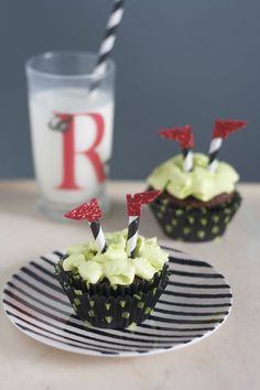 Ruby Slipper Cupcakes - The Alison Show