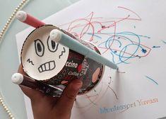 """56 Beğenme, 6 Yorum - Instagram'da Haydi sende katıl aramıza 🐰 (@montessoriyuvasi): """"""""Çılgın Kalem"""" iş başında 🎉 . . Gerekli olan karton bardak, kalem ve bant 🤗 Gerisi eğlenceee 🎊…"""""""