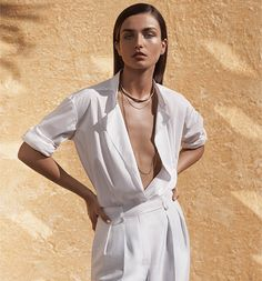 ON THE COVER | Model Andreea Diaconu photographed by Josh Olins and styled by Clare...