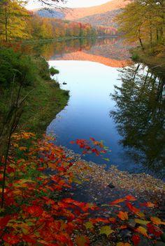 Autumn at the Catskills, New York #NewYork