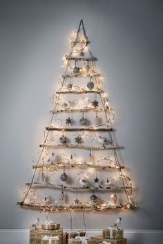 Genius Christmas Tree Alternatives For Small Spaces