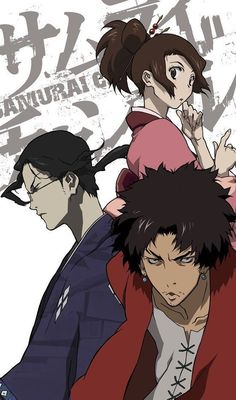 Samurai Champloo (2004–2005): sleek as hail animation + soundtrack, though one cannot be blamed for thinking that style took precedence over substance.