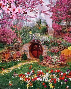Casa Dos Hobbits, Cabin In The Woods, Nature Aesthetic, Amazing Pics, Dream Garden, Rhode Island, Island 2, Bohemian Decor, Vacation Trips
