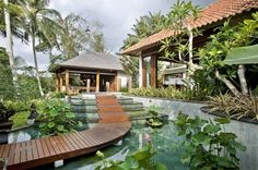 Villa in Bali, must see every picture, the architecture and landscaping are unique, pristine, and embody the outdoor-indoor living lifestyle. Stunning.