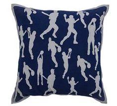 Basketball Pillow For A Baby Boy's Nursery - DEQOR.com