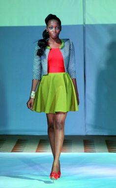 Duaba Serwa ~ Ghana Fashion & Design Week Spring/Summer 2013