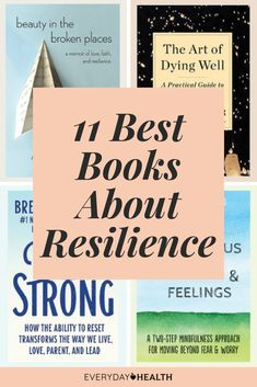These #books can help you learn more about nurturing resilience.