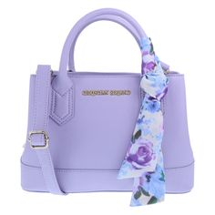 """Carry all your must-haves in style with this designer handbag from Christian Siriano! It features a textured outer, zippered close, two side compartments--each with a magnetic snap close and one with a zippered pocket and one with a slip pocket, two carry handles, and a detachable crossbody strap that extends to a 23"""" drop. Measures approximately 7""""HX11""""WX4""""W. 100% Vinyl."""