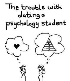 My husband is about to finish his psych degree...I am wondering more often if this is true!!!