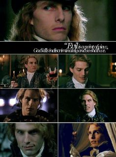 LeStat - I was obsessed with this movie and the Anne Rice books my junior year in high school