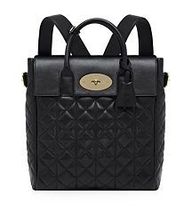 View the Large Cara Delevingne Quilted Nappa Bag