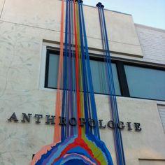 Anthropologie-  Beverly Hills - Disruptive Retail facade