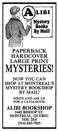 Alibi Mystery Books by Mail