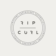 Various logos for Rip Curl surfing company Surf Stickers, Brand Stickers, Diy Stickers, Hawaii Surf, Rip Curl, Logo Sticker, Sticker Design, Logo Inspiration, Surfing Wallpaper