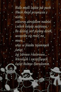 Kartka świąteczna 🎅🌲😇🎅🌲😇🎅🌲😇 Christmas And New Year, Christmas Time, Merry Christmas, Lets Celebrate, Motto, Birthday Wishes, Diy And Crafts, Nostalgia, Presents
