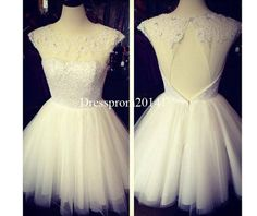 Homecoming dressesBridal gownsParty by DressProm20141 on Etsy