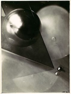 'Composition' (c.1926) by German photographer Marianne Brandt