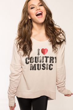 #oBaz                     #love                     #Love #Country #Sweater   I Love Country Sweater                              http://www.seapai.com/product.aspx?PID=102402