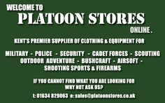 Recommended by Warfighters Paintball & Laser Combat Centre, Northamptonshire/Warwickshire #paintball  http://www.warfighters.co.uk  http://www.platoonstores.co.uk