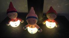 lampjes gemaakt voor mij kleindochters. patroon gebruikt van het slaappopje