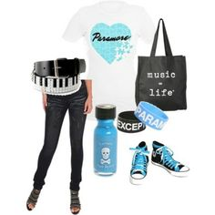 Blue and Music ^-^