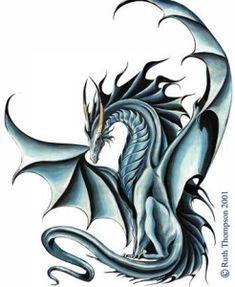 Blue gorgeus dragon Photo of Dragon for fans of Dragons 16650855 Tatoo Art, Body Art Tattoos, Tattoo Drawings, Tatoos, Celtic Fantasy Art, Fantasy Dragon, Chinese Tattoo Designs, Dragon Tattoo Designs, Chinese Tattoos