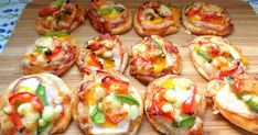 Party Snacks, Bread Baking, Bruschetta, Finger Foods, Baked Potato, Appetizers, Food And Drink, Pizza, Meat