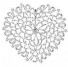 Картинки по запросу сердечки крючком