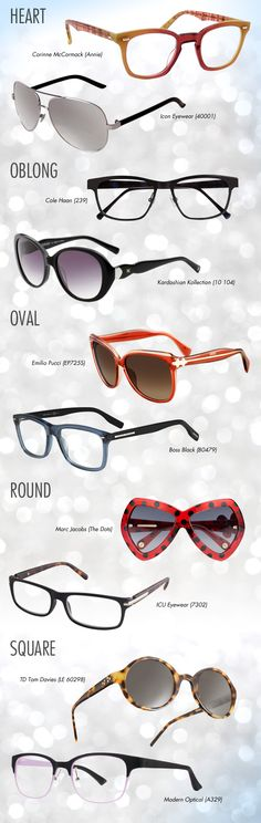 You eyewear reflects your character, so let me help you choose the right look for you this new year! Eyecessorize has a couple of ideas.