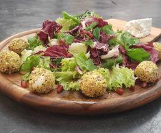 Ανοιξιάτικη σαλάτα με μπουκιές τυριού