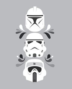 Starwars, Clone/Storm/Scout Troopers.