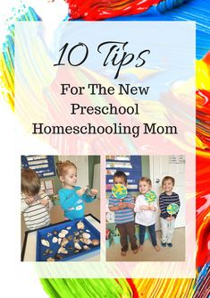 10 Tips For The New Preschool Homeschooling Mom. Helpful advice to help make your preschool adventure easier, how, when, and where to buy your materials for your classroom, and more! Check out our latest post filled with great advice for families just starting their homeschooling journey!