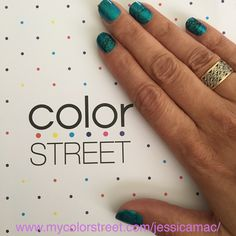 Color Street: southwest dream  100% nail strips, made in the USA!  This mani took me about 15 mins, no dry time needed!!!