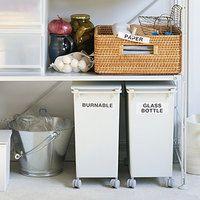 見た目もスッキリ♪おしゃれな「ゴミ箱」でお部屋やキッチンの生活感を隠しましょ