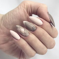 I love the nude nails + the middle finger design so much, but I'd skip the ring finger.... Not a fan of that one.