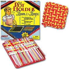 My mother good-naturedly used the potholders I made for her with one of these.