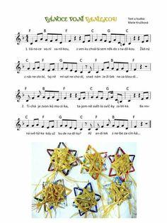 Vanoce Advent, Kindergarten, Diagram, Songs, Music, Preschool Winter, Christmas, Manualidades, Musica