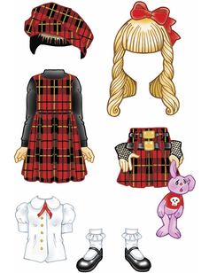 Little Goth Girl Sticker Paper Doll, free sample (limited-time) from Dover