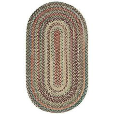 "Capel Sherwood Forest Amber Area Rug Rug Size: Concentric Runner 2'3"" x 9'"