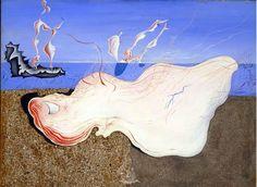 Salvador Dalí. Banyistes, c. 1928