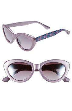 abd8d02e45 Isaac Mizrahi New York 50mm Cat Eye Sunglasses available at  Nordstrom Cat  Eye Sunglasses