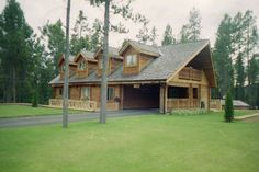 Log Cabin Getaways, Getaway Cabins, Wooden Cabins, Log Homes, Construction, Traditional, Mansions, House Styles, Building