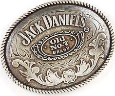 Jack Daniel's Old No. 7 Belt Buckle