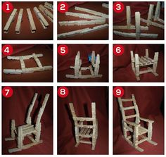 crafts made with wooden clothespins – Diy Projects Crafts – All in Ideas Wooden Clothespin Crafts, Clothespin Cross, Wooden Clothespins, Wood Crafts, Popsicle Stick Crafts, Craft Stick Crafts, Crafts To Make, Fun Crafts, Crafts For Kids