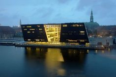 The Black Diamond - The Royal Library in Copenhagen