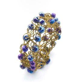 Alessandra Stabili Wire Crochet Jewelry