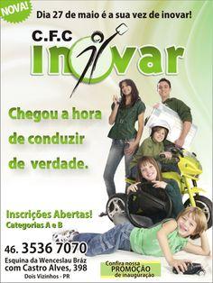 Folder de Campanha para Auto Escola.